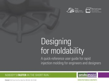 Designing for moldability - Today's Medical Developments
