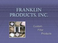 Franklin Products, Inc. - Waco