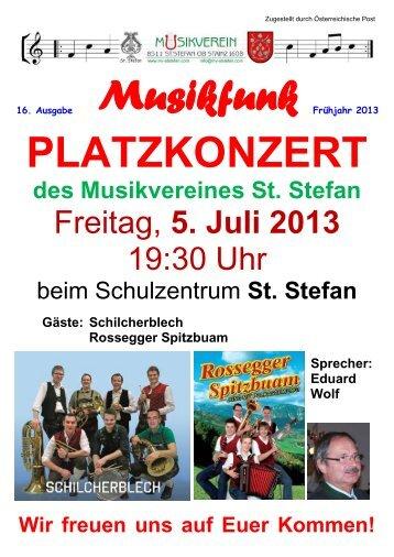Ansicht/Download - Musikverein St. Stefan
