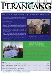 mip patron tun dr mahathir mohamad honoured - Malaysian Institute ...