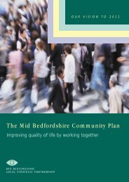 The Mid Bedfordshire Community Plan - Voluntary Works