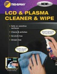 LCD & Plasma CLeaner & Wipe - NTE Electronics