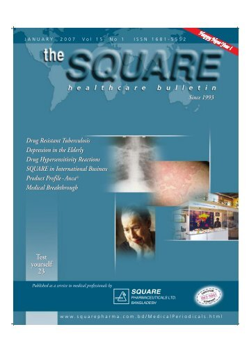 January, 2007 - Square Pharmaceuticals Ltd.