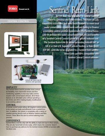 Sentinel® Retro-Link - Toro Media