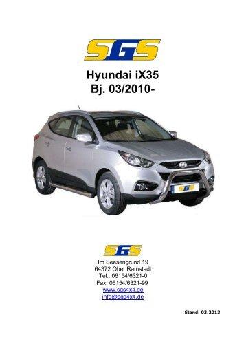 iX35 Typ EL ab Bj. 2010 - SGS