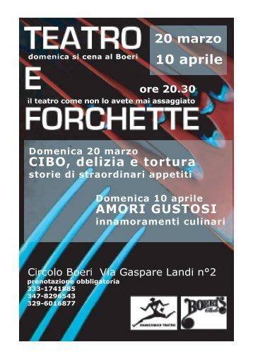 10 aprile - Manicomics Teatro