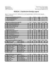 3. Turnier - Keglerkreisfachverband Freiberg eV
