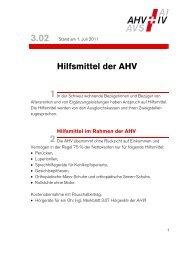 3.02 Hilfsmittel der AHV