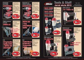Tools & Stuff - van aerden group