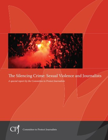 The Silencing Crime: Sexual Violence and Journalists