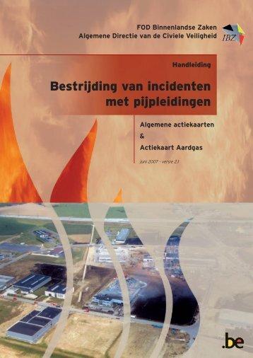 Bestrijding van incidenten met pijpleidingen - Infopunt Veiligheid
