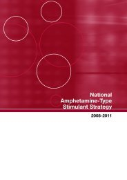 National Amphetamine-Type Stimulant Strategy 2008-2011
