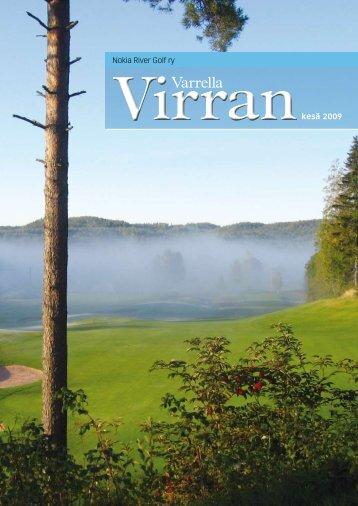 Varrella Virran 2009 - Golfpisteen etusivulle