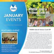 JANUARY - Fort Stewart Morale Welfare and Recreation