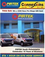 ETA 1 HOUR ON-SITE HOSE SERVICE - Pirtek USA