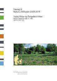 Forslag til Natura 2000-plan 2009-2015 Vasby ... - Naturstyrelsen