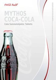 Coke Sammelobjekte: Tabletts