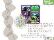 Schéma directeur d'accessibilité des transports publics ... - ORT PACA
