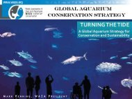 Turning the Tide: A Global Aquarium Strategy for - World Association ...