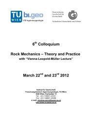 6 Colloquium March 22 and 23 2012 - Forschungsbereich für ...