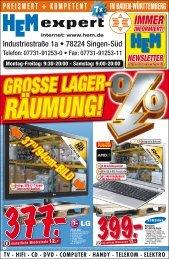 GROSSE LAGER- RÄUMUNG! - Regiostars