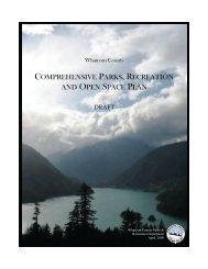2008 Comprehensive Parks, Recreation and ... - Whatcom County
