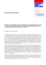 Programm - Friedrich-Ebert-Stiftung