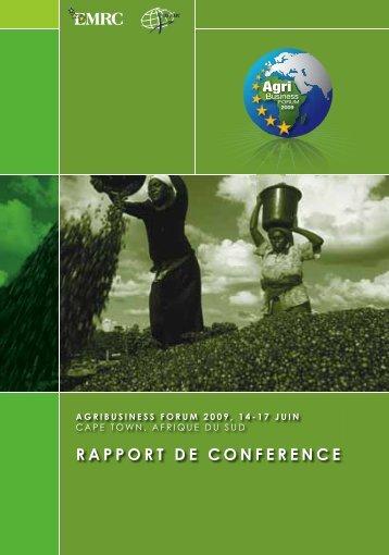 RAPPORT DE CONFERENCE - EMRC
