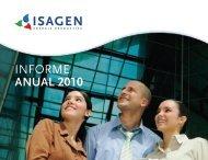 INFORME ANUAL 2010 - Isagen