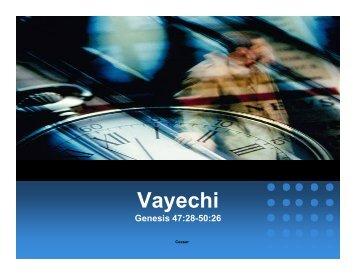 Vayechi - The Jewish Home