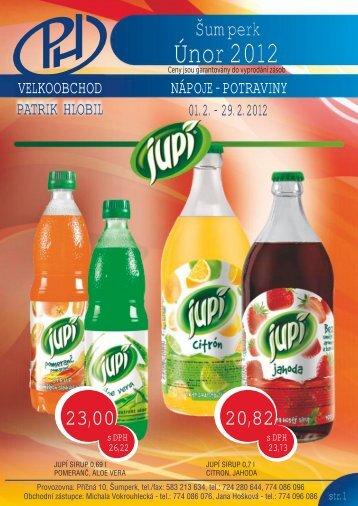 Katalog Šumperk únor 1-4 2012.cdr - Patrik Hlobil