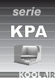serie kpa - Koolair