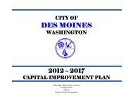 2012-2017 Capital Improvement Plan - City of Des Moines Outlook ...