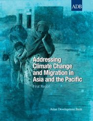 Addressing Climate Change and Migration in Asia and ... - ReliefWeb