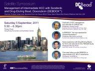 Saturday 3 September, 2011 5:30 – 6.30pm - Biocompatibles