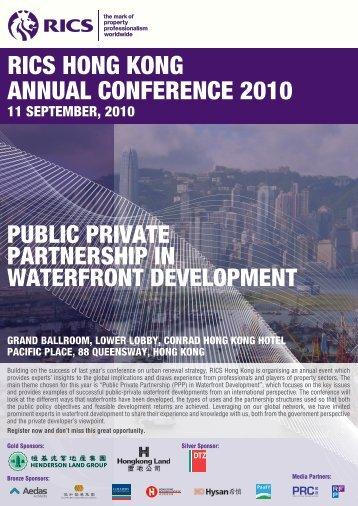 RICS HONG KONG ANNUAL CONFERENCE 2010 - RICS Asia