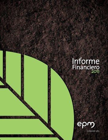 Informe financiero 2011 - EPM