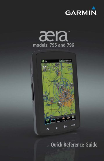 aera 796 Quick Reference Guide