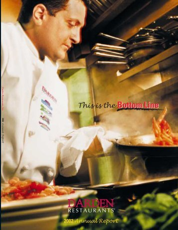 Annual Report 2002 - Investor Relations - Darden Restaurants