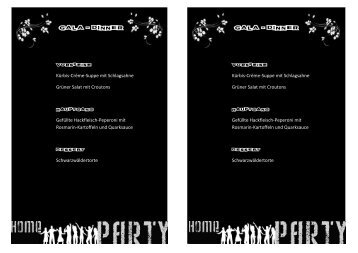 Gala - Dinner Gala - Dinner - youth4unity