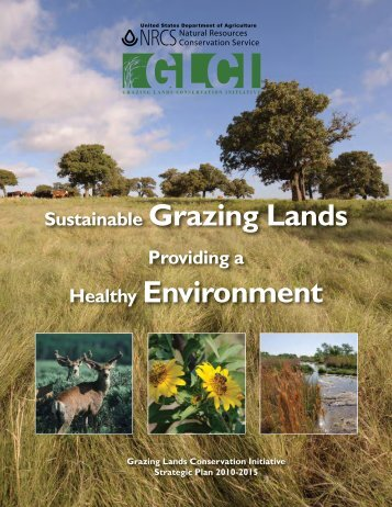 Sustainable Grazing Lands Healthy Environment - Natural ...