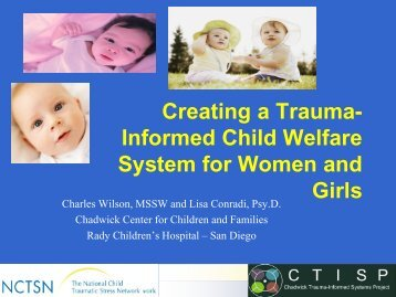 Creating a Trauma-Informed Child Welfare System for Women and ...