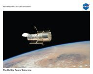 The Hubble Space Telescope - NASA Space Science Education ...