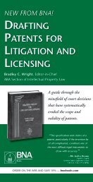 drafting patents for litigation and licensing - Banner & Witcoff, Ltd.