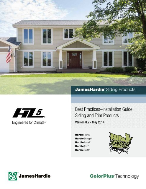 Best Practicesa Installation Guide Siding And Trim James Hardie