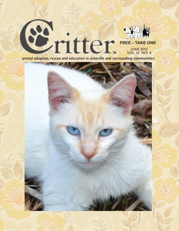 ALL PAGES-JUNE 2012-FINAL - Critter Magazine