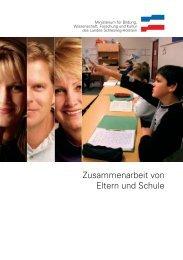 Zusammenarbeit von Eltern und Schule