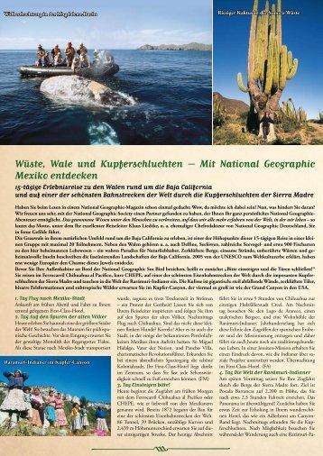 Mit National Geographic Mexiko entdecken - Lernidee