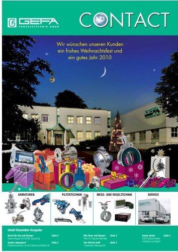 Präzisionsarmatur für die Orbitalschweißtechnik: GEFA Kugelhahn ...
