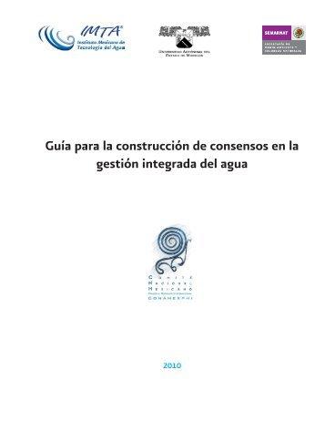 Guía para la construcción de consensos en la gestión integrada del ...